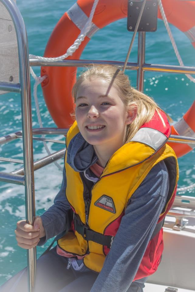 Smiles at sea